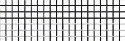 Toile en fibres de verre noir et blanc