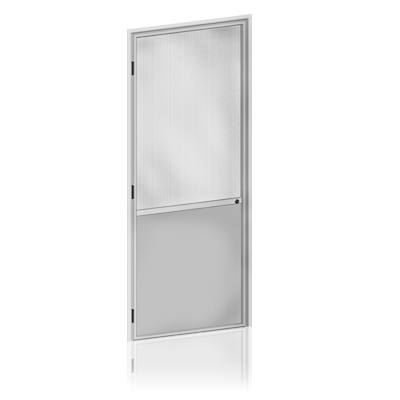 Panneau en aluminium – Partie inférieure
